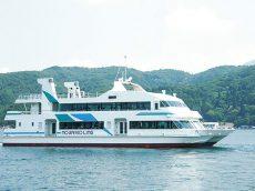 野尻湖ライン遊覧船